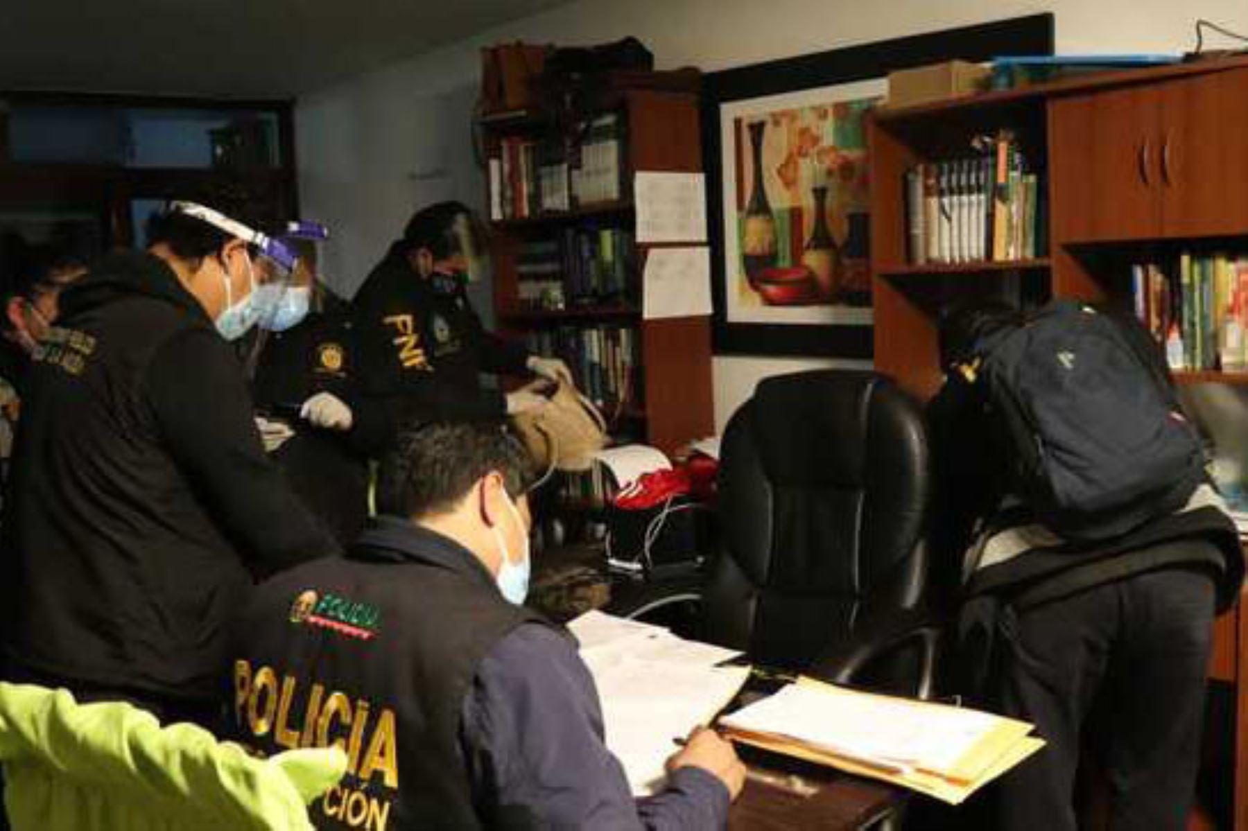 Gracias a denuncia ciudadana, autoridades dirigieron megaoperativo esta madrugada en cuatro distritos. Foto: ANDINA/Difusión