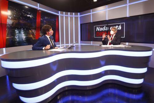 Presidente Francisco Sagasti brinda entrevista a RPP