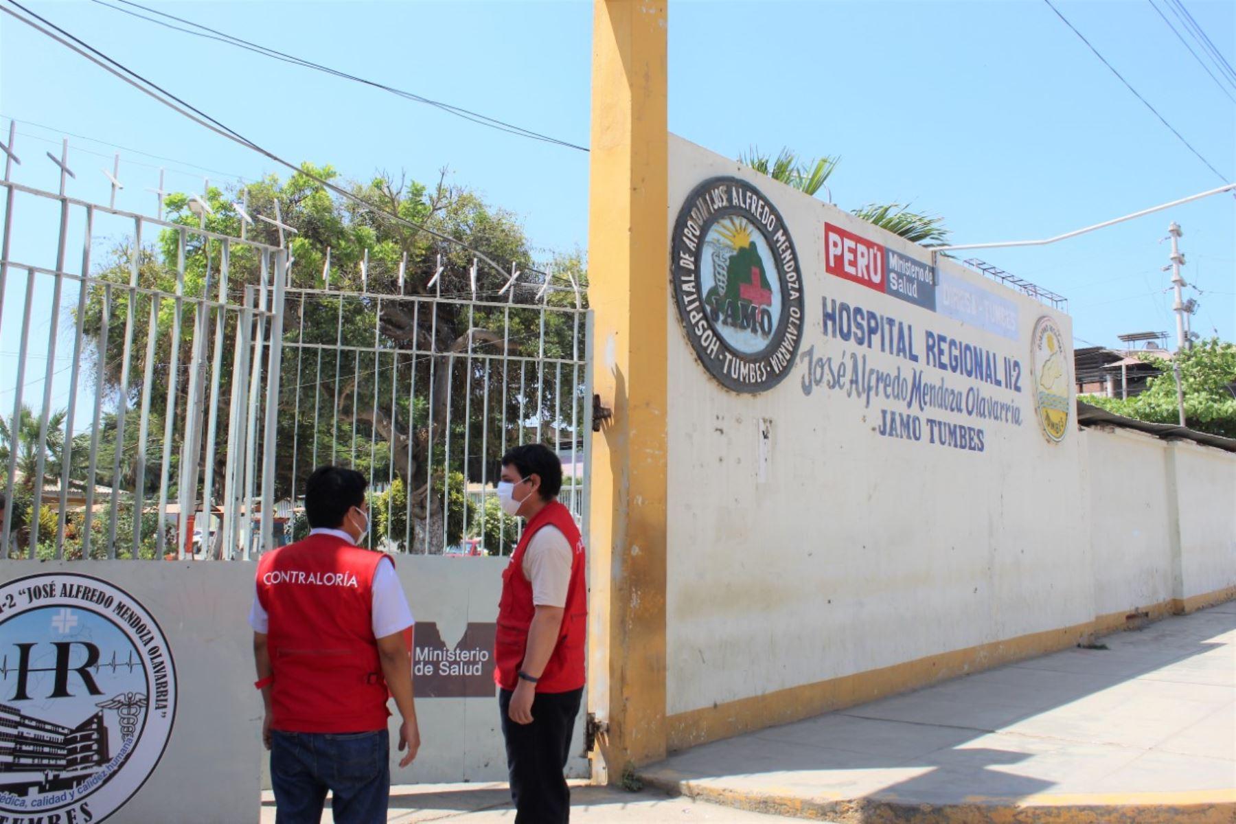 Tumbes: Contraloría detecta pago ilegal de bonificaciones en Hospital José A. Mendoza