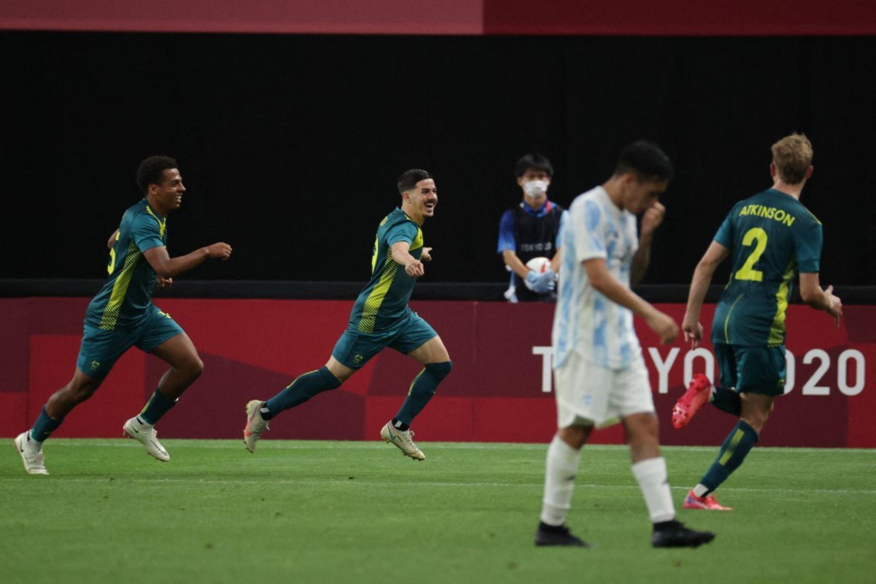 Tokio 2020: Argentina se estrella contra Australia y cae 2-0