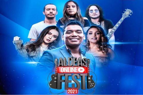 Aldeas Online Fest 2021: festival musical que llevará ayuda a más de 70 ollas comunitarias . Foto:Difusión