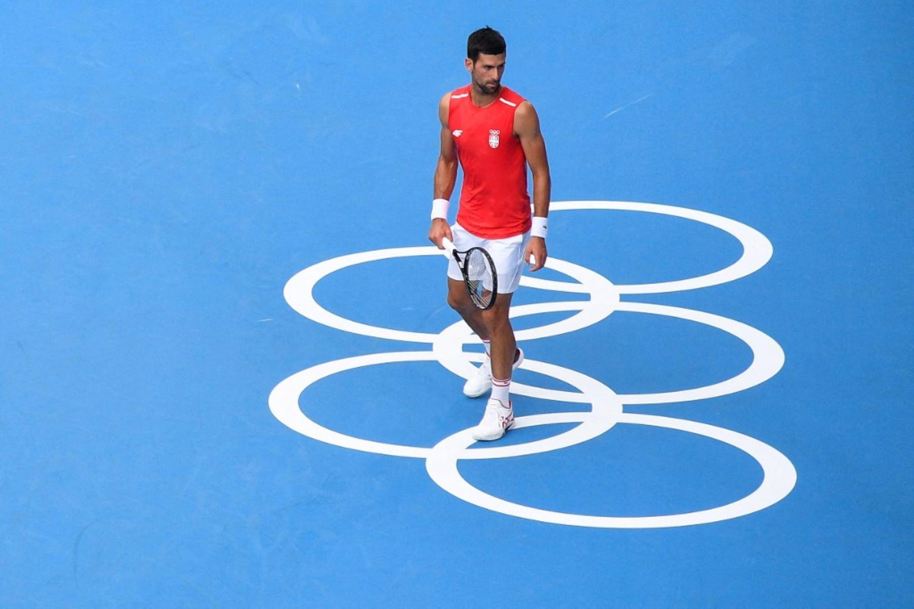 Djokovic se alista para su debut olímpico
