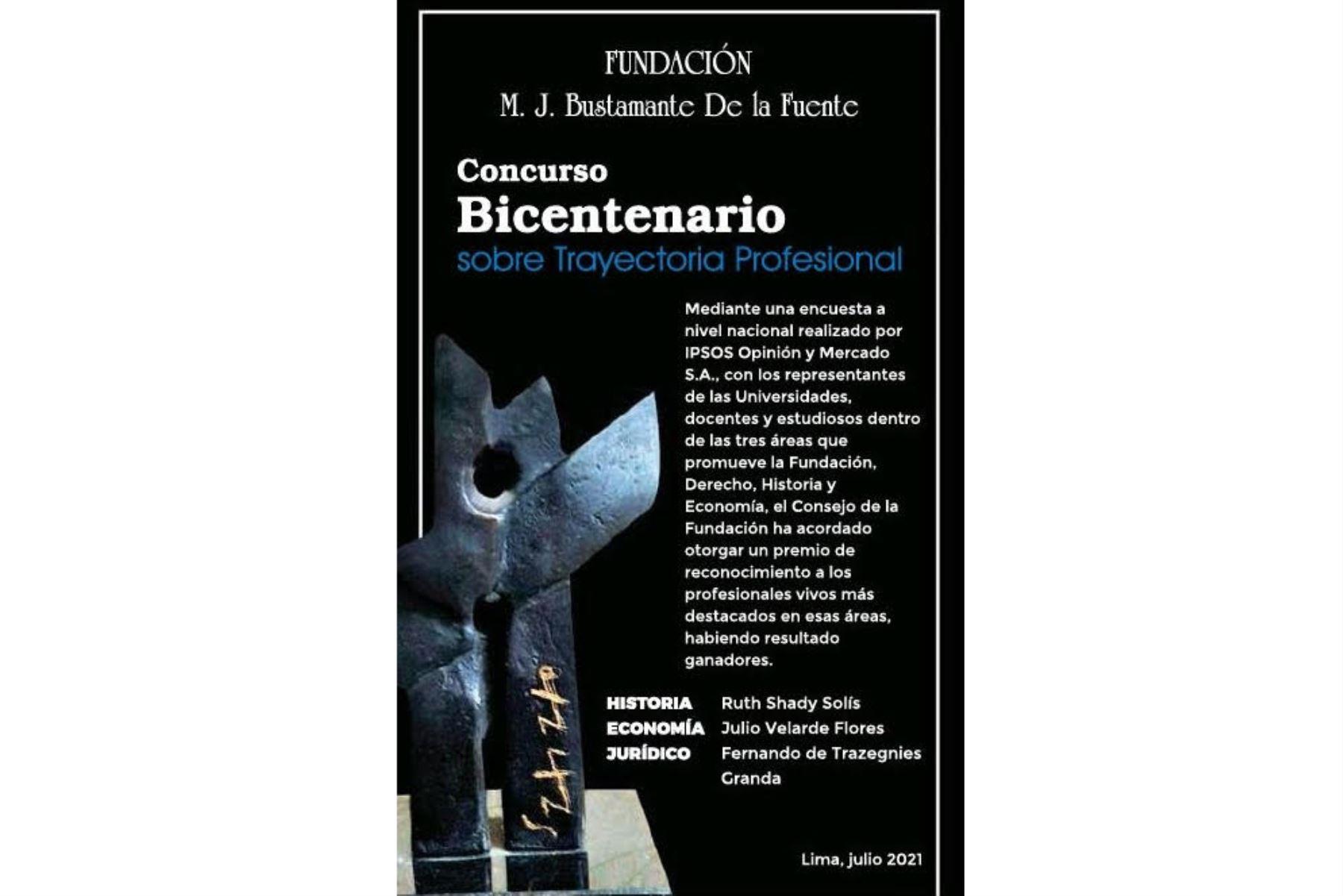Premian a Ruth Shady, Julio Velarde y Fernando de Trazegnies en Concurso Bicentenario