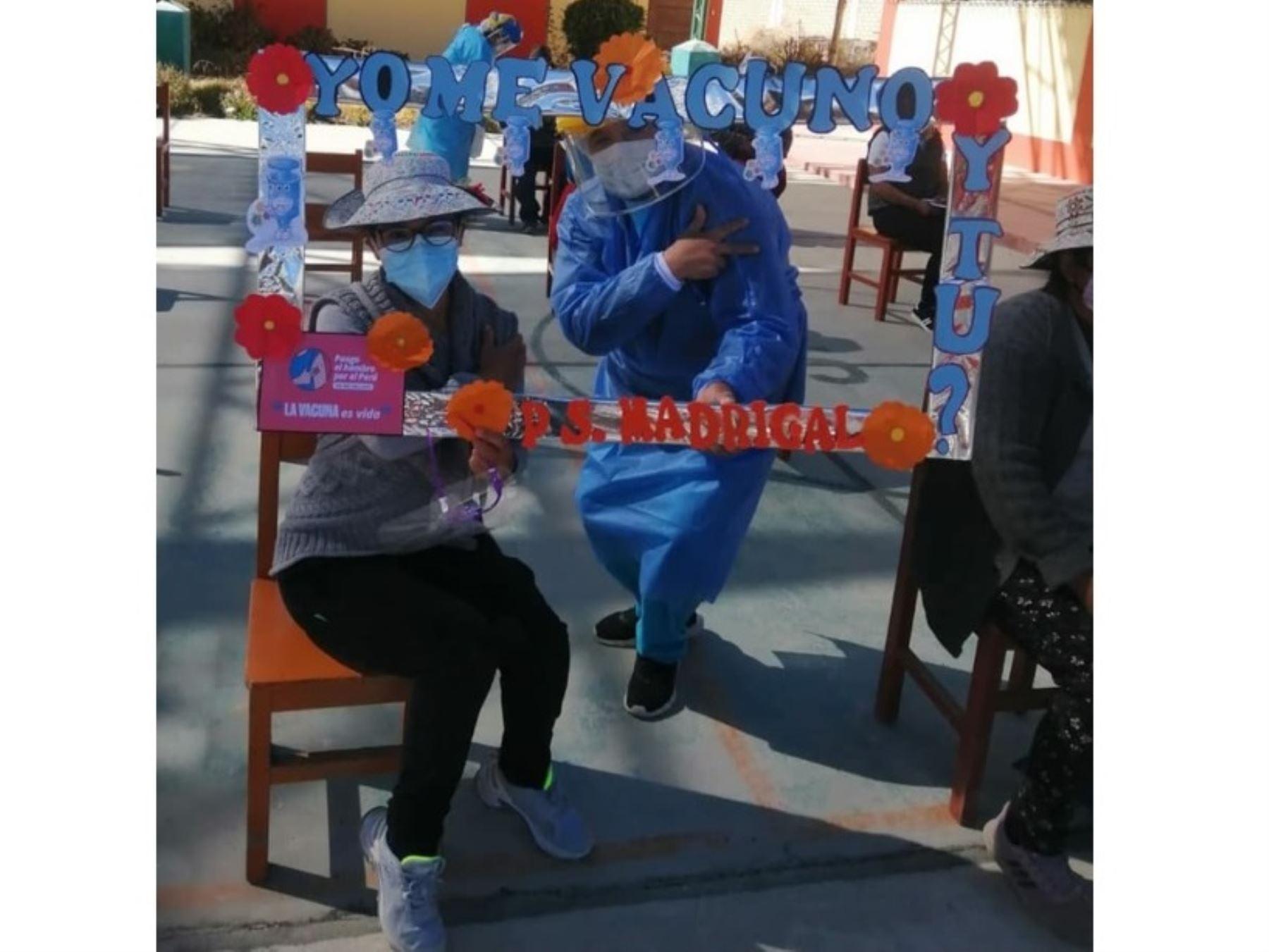 Arequipa se posiciona como la segunda región con más personas vacunadas contra la covid-19