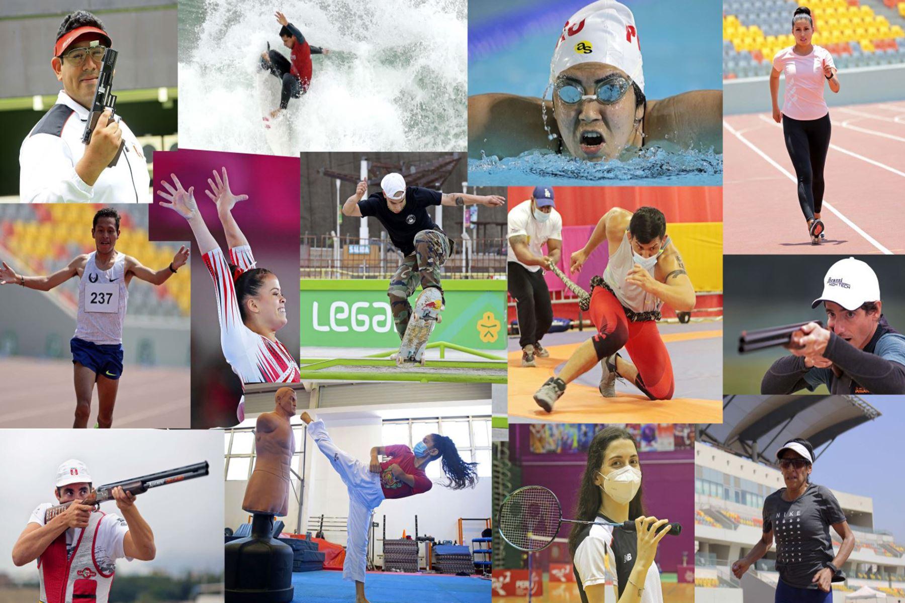 Las sedes Legado, aliados en la preparación de atletas peruanos para Tokio 2020