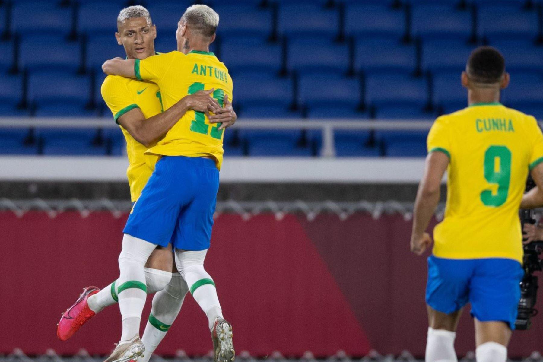 Richarlison fue la figura de Brasil