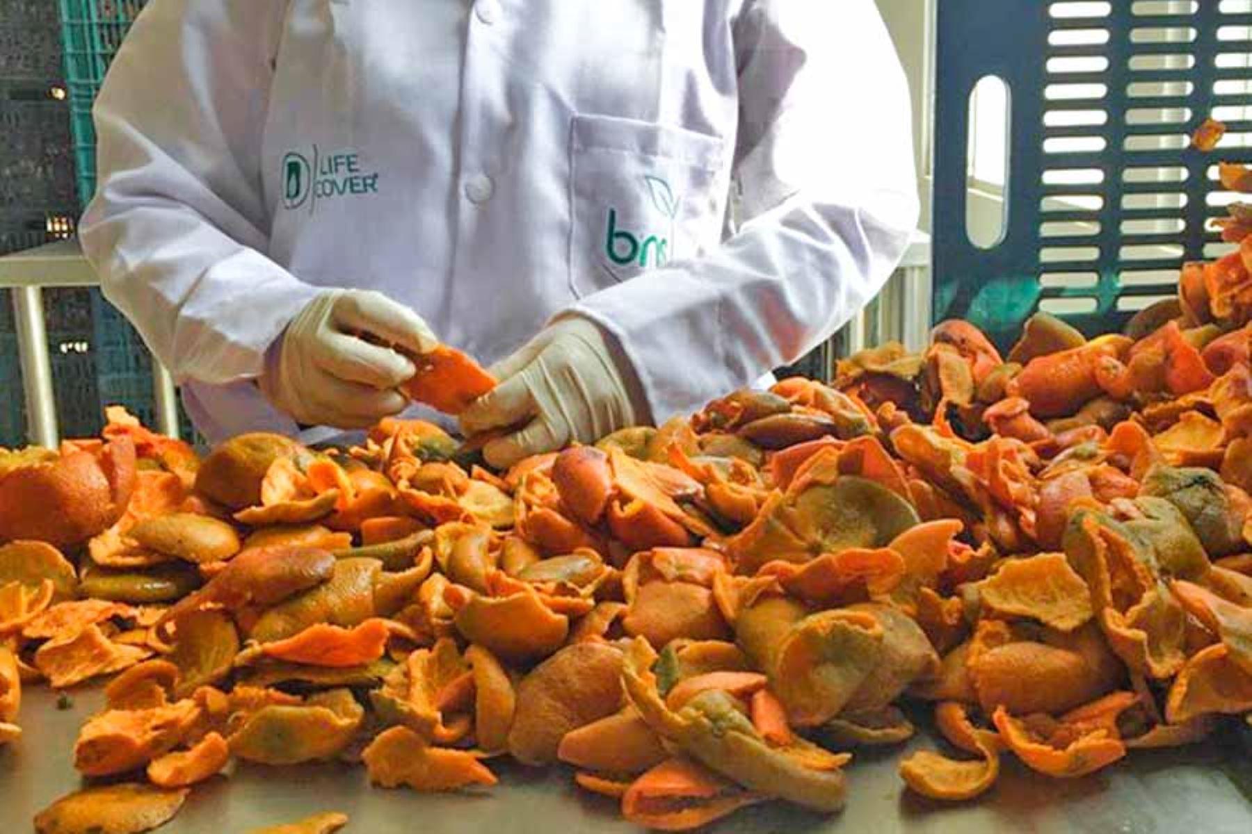 Actualmente, las frutas que más emplean para el desarrollo de los conservantes y desinfectantes son: mandarina, palta, naranja y mango.