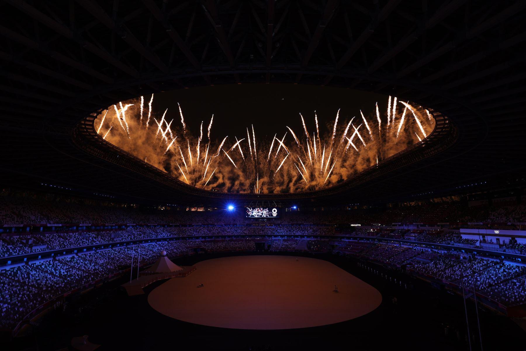 La ceremonia de inauguración de los Juegos Olímpicos ya se inició