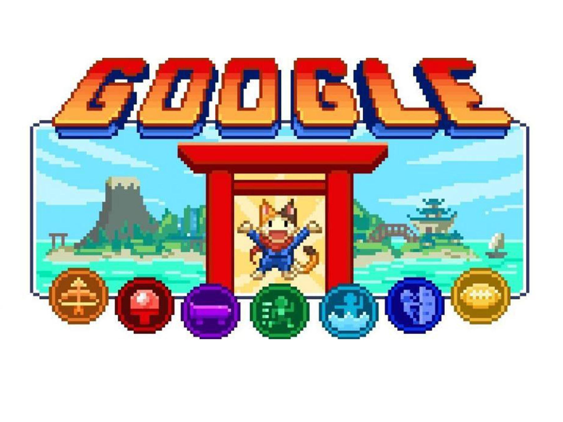 El videojuego Doodle Champion Island Games que invita a los usuarios a participar en varias pruebas que representan distintas disciplinas olímpicas
