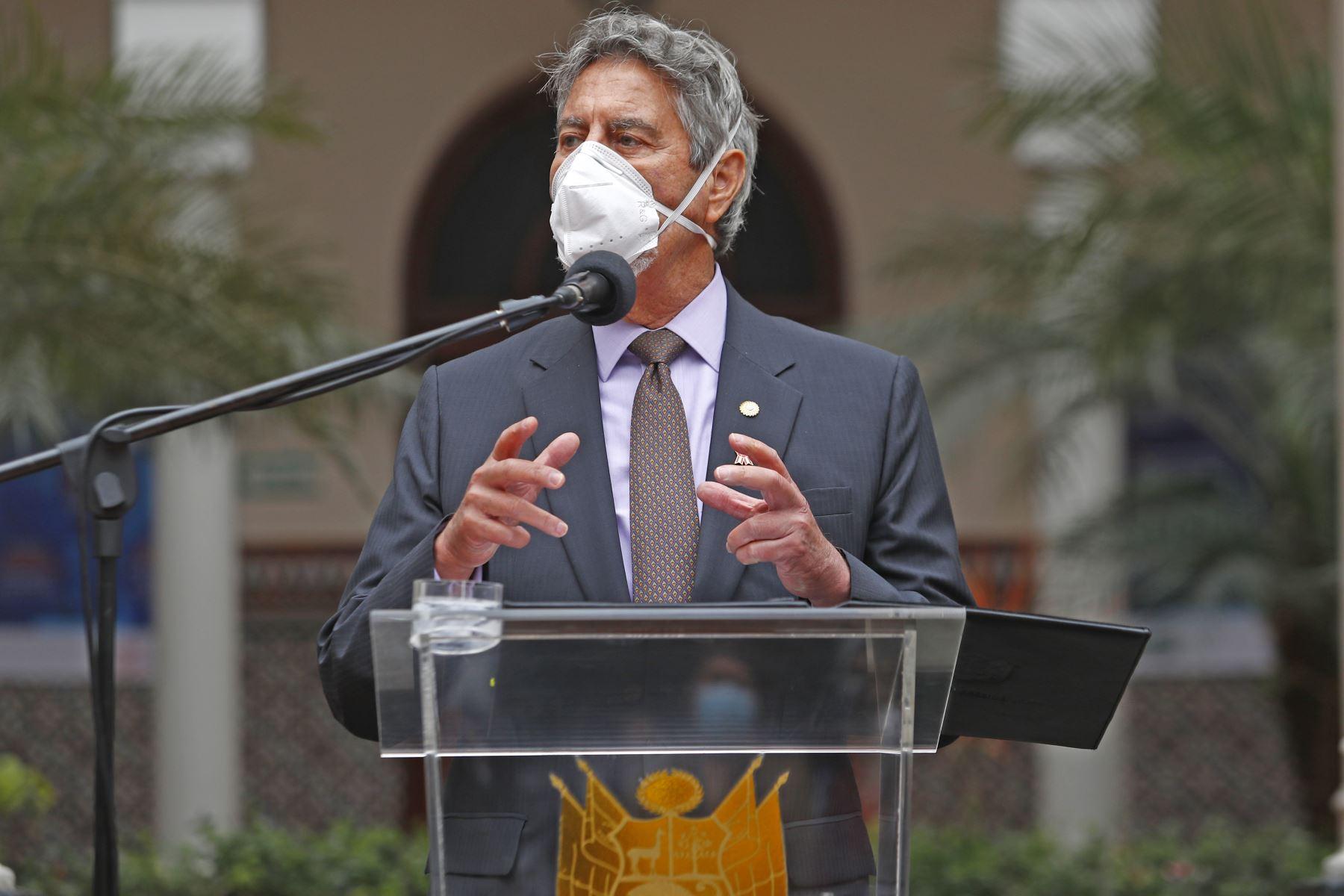 Ceremonia por el 125º aniversario del Instituto Nacional de Salud . Foto: ANDINA/ Prensa Presidencia