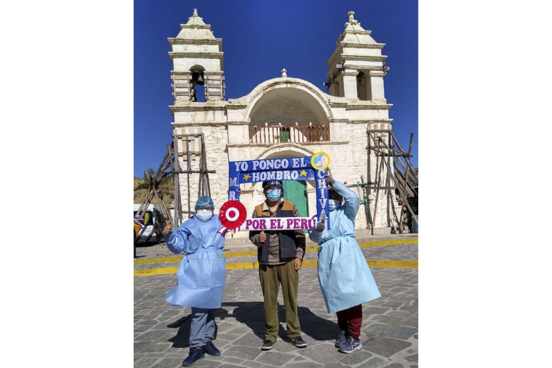 Llegó el turno de las personas de 50 años a más en la provincia de Arequipa, donde este fin de semana se desarrollará la primera vacunatón. Foto: ANDINA/Difusión