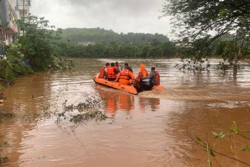 India: 138 muertos por fuertes lluvias. Foto: EFE