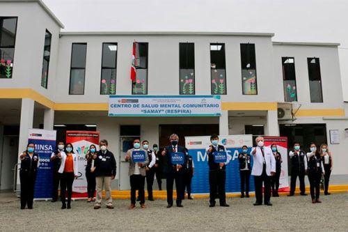 Con este nuevo establecimiento la zona de Lima Norte suma nueve locales que atenderán a las personas con trastornos mentales y/o problemas psicosociales. Foto: ANDINA/Minsa