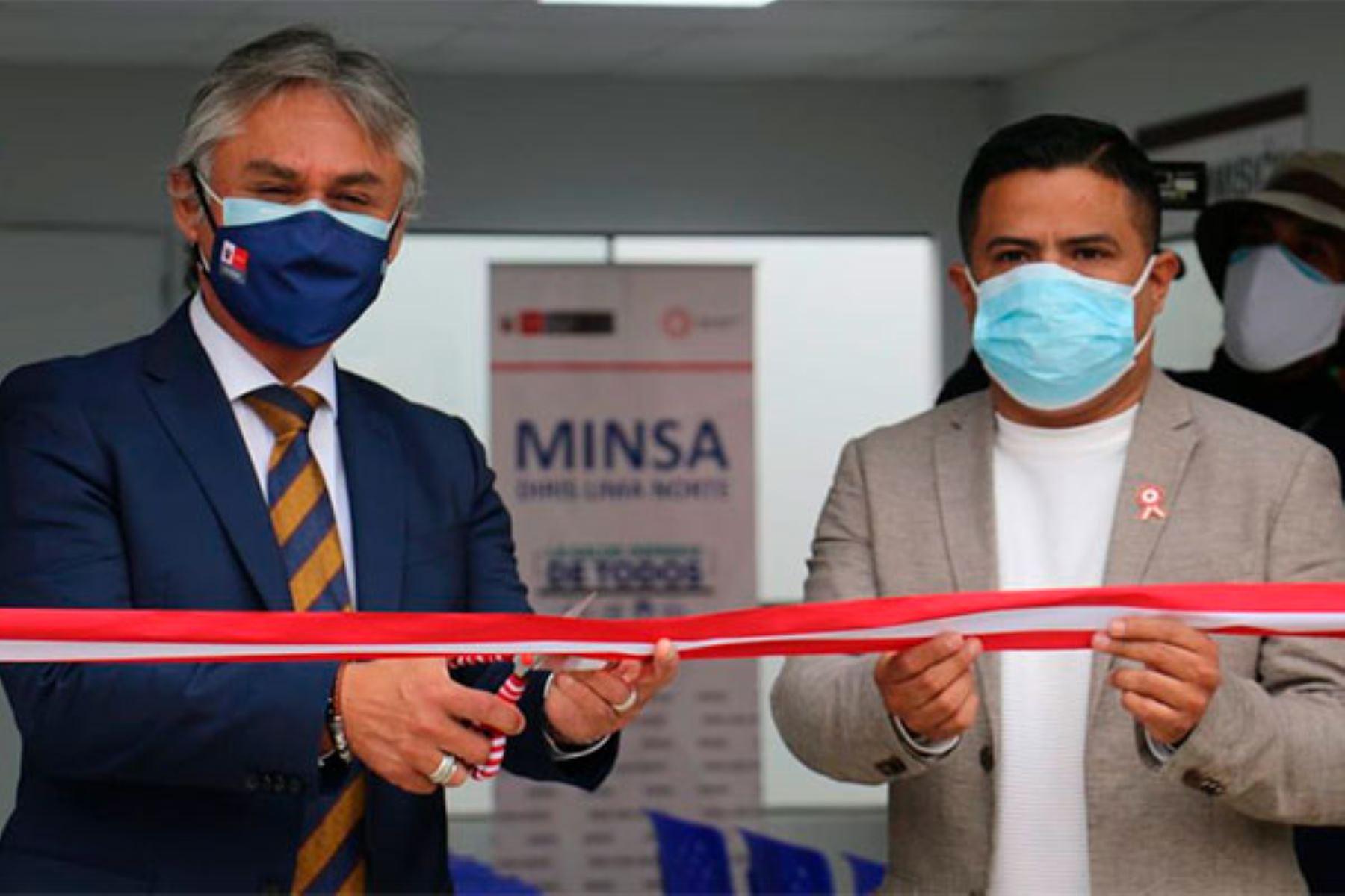 Con este nuevo establecimiento la zona de Lima Norte suma nueve locales que atenderán a las personas con trastornos mentales y/o problemas psicosociales. Foto: ANDINA/Minsa.