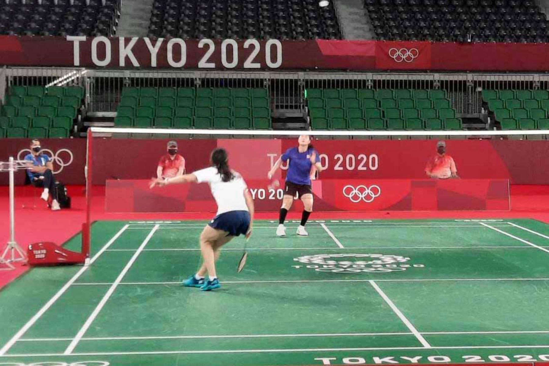 Daniela Macías debutó en los Juegos Olímpicos contra la tailandesa Ongbamrungphan, quien ganó 2-0.  La peruana Daniela Macias obtuvo14 tuvo pasajes de muy bien juego, en el especial, en el inicio del segundo set. Foto: Comité Olímpico Peruano