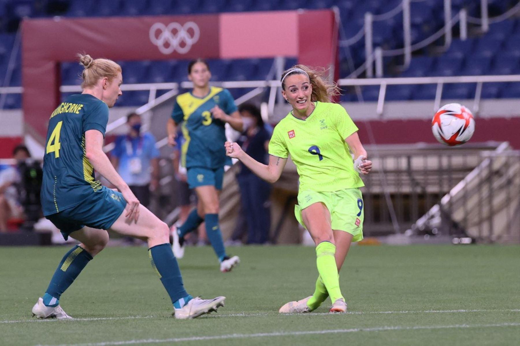 Suecia se metió a los cuartos de final en el fútbol femenino olímpico