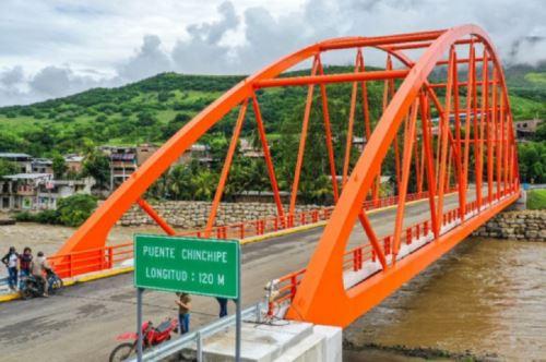 MTC construyó 652 puentes para fortalecer la integración del país con sus zonas rurales. Foto: MTC.