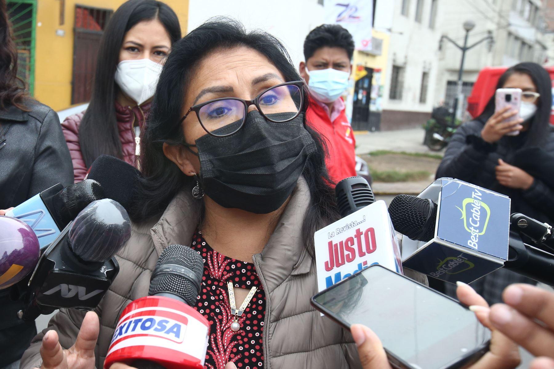 Congresistas Zea y Ugarte de Perú Libre reafirman respaldo al gobierno y al gabinete