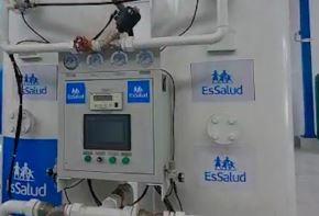 Una gran planta generadora de oxígeno medicinal de 100 metros cúbicos por hora y con capacidad de producir hasta 240 balones de oxígeno por día, llegó al departamento de Cusco y será puesta en operatividad a fines de julio.