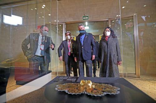 Ceremonia de apertura del Museo Nacional del Perú (MUNA)