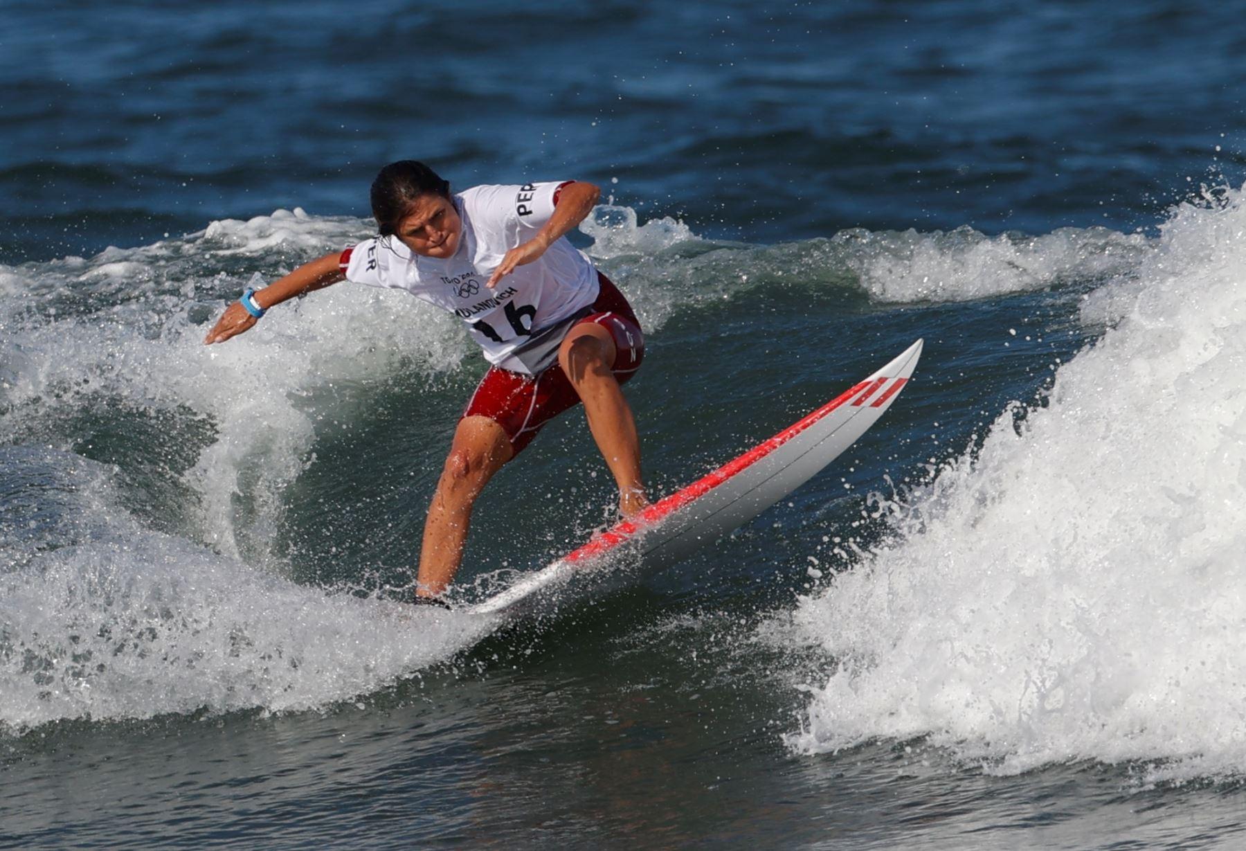 Sofía Mulánovich avanzó a la siguiente fase en los juegos Olímpicos Tokio 2020