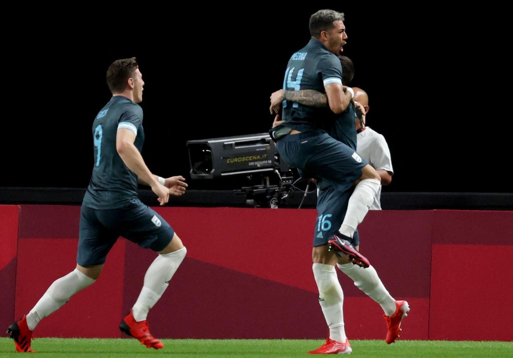 Los argentinos se mantienen con vida en el fútbol olímpico al vencer 1-0 a Egipto