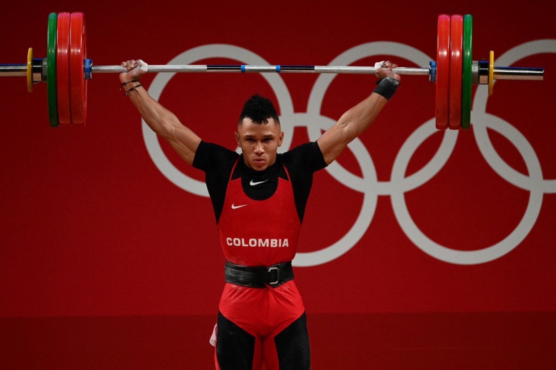 Luis Mosquera le dio la medalla de plata a Colombia
