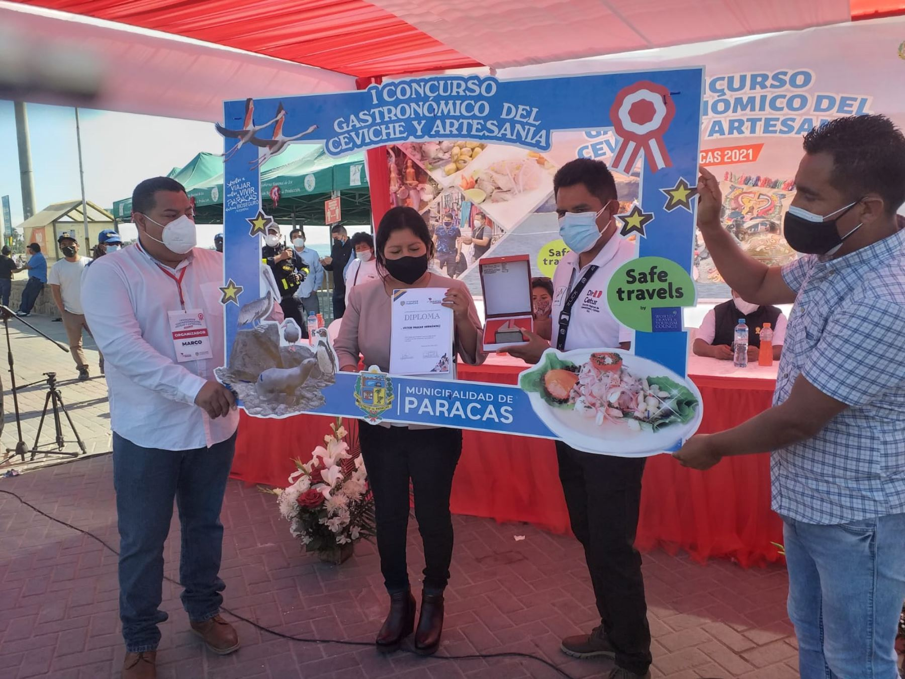El concurso gastronómico marino organizado por la comuna de Paracas se vio ensalzado por la presencia de los más de cuatro mil visitantes de Lima, que en su gran mayoría, llenaron los hoteles de tres, cuatro y cinco estrellas.