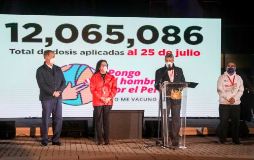 Clausura del tercer Vacunatón en Lima Metropolitana y Callao
