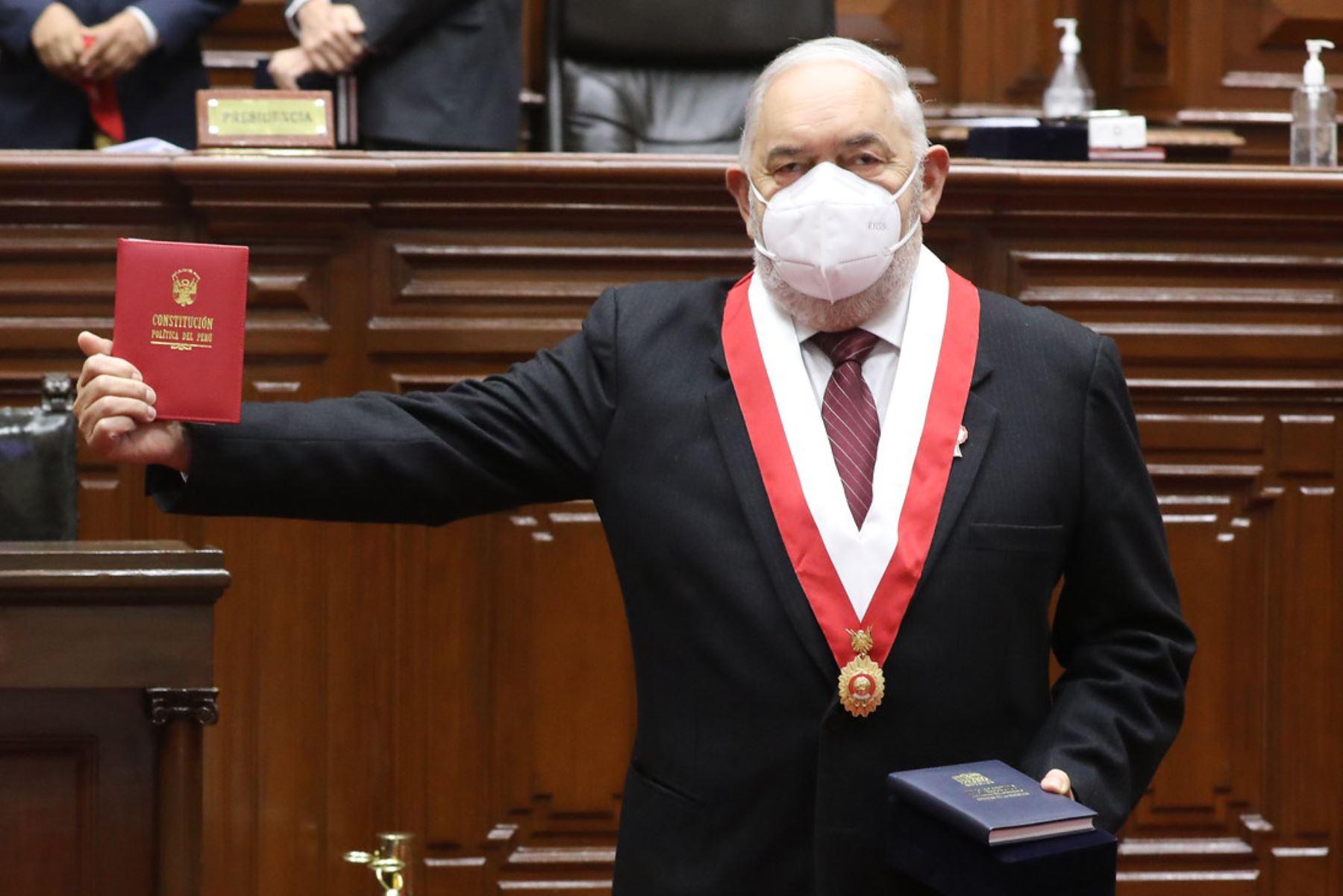 Congresista Jorge Montoya, vocero de la bancada de Renovación Popular. Foto: ANDINA/Difusión.