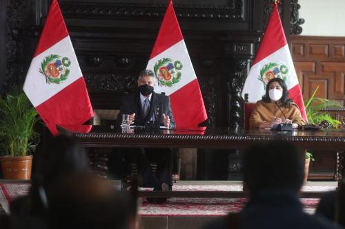 Photo: ANDINA/Presidency of the Republic.