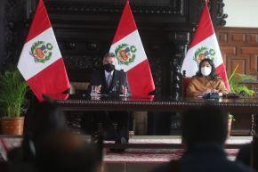 Presidente de la República, Francisco Sagasti. Foto:ANDINA/Prensa Presidencia