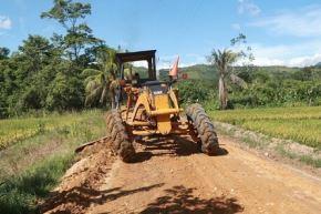 Trabajos de infraestructura vial en Madre de Dios. Foto: Cortesía.
