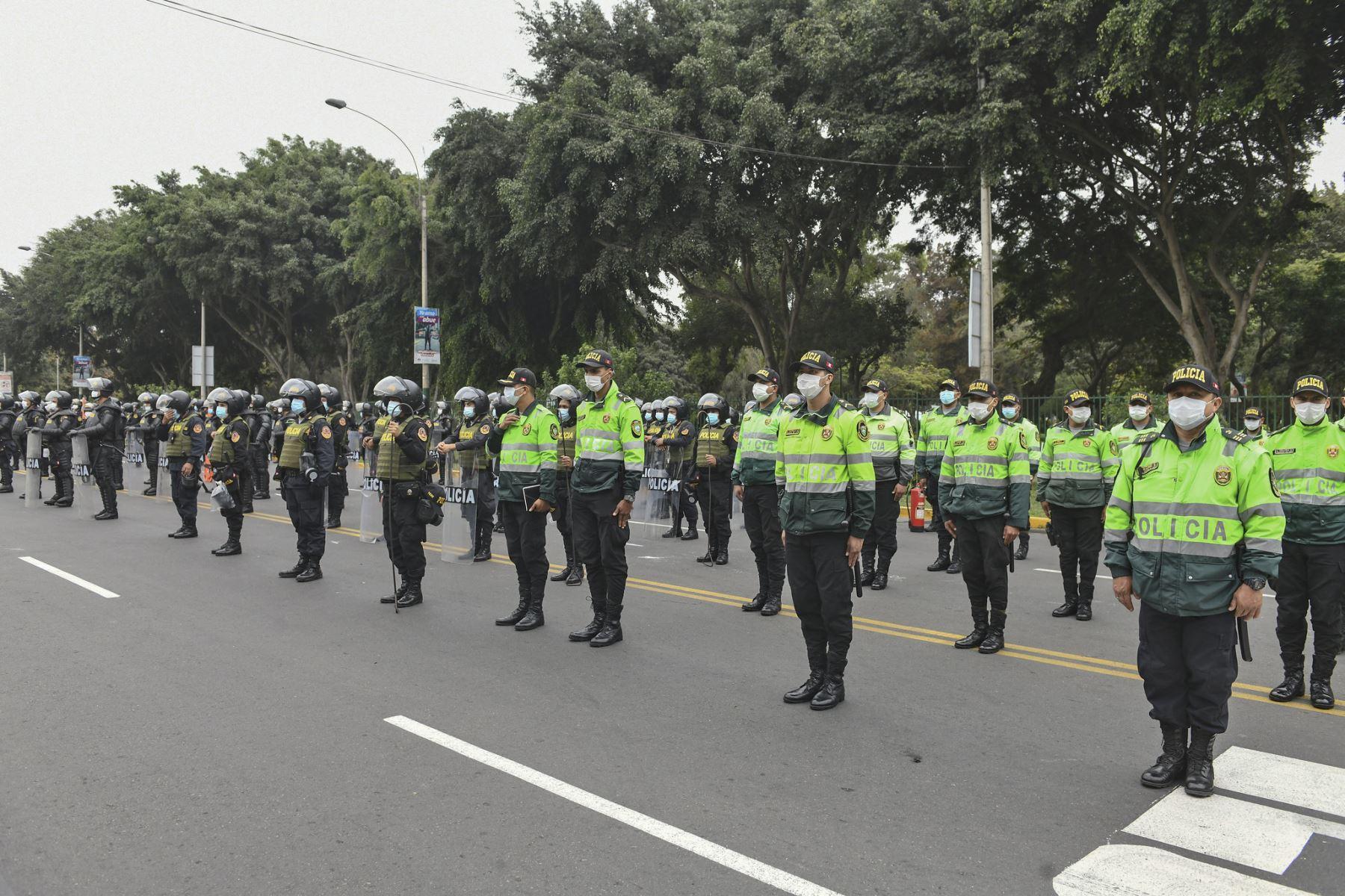 Fiestas Patrias: más de 106,000 policías resguardarán la seguridad a nivel nacional. Foto: ANDINA/Archivo