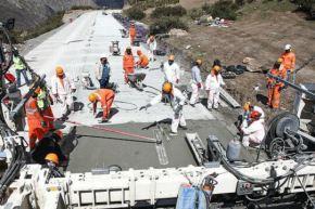 Construcción de infraestructura vial. Foto: Cortesía.