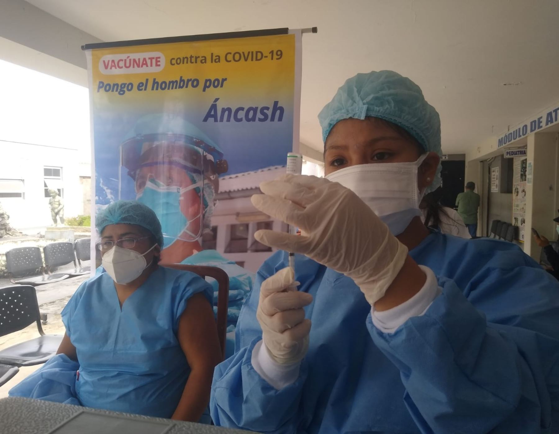 Más de 400,000 ciudadanos de Áncash han recibido la vacuna contra la covid-19, resaltan autoridades de Salud.