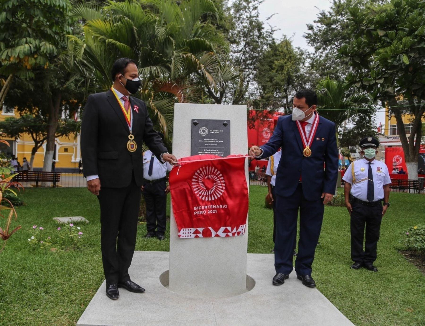 Con diversas actividades oficiales, Piura celebra los 200 años de la Independencia del Perú. Foto: David Ramos