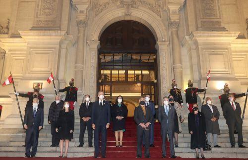 Presidente  Sagasti  lidera la ceremonia Unidos por el Bicentenario: 200 años de Independencia