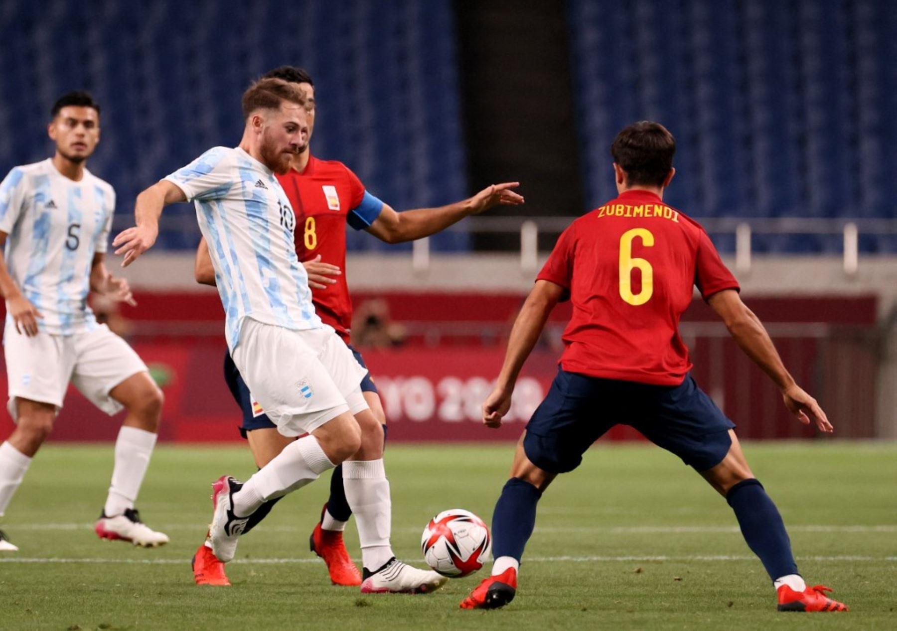 Los argentinos vieron frustradas su ilusión de ganar una medalla en fútbol masculino