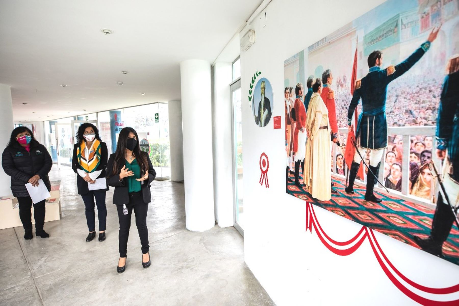Clubes zonales de Lima exhiben muestra sobre la historia de la Independencia del Perú. Foto: ANDINA/difusión.
