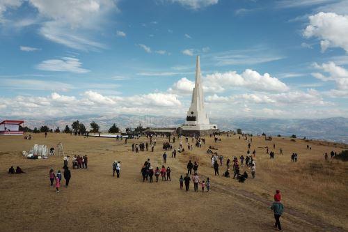 Vista panorámica de la histórica Pampa de Ayacucho. ANDINA/Juan Carlos Guzmán