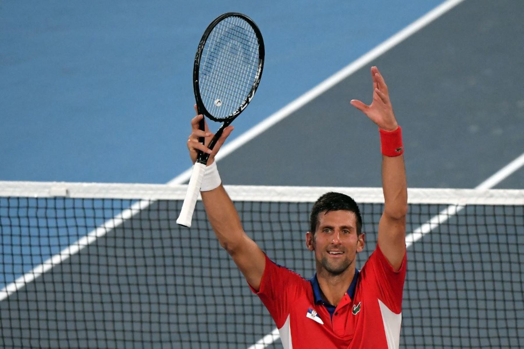 Djokovic no se detiene en su deseo de hacerse de la medalla de oro en tenis