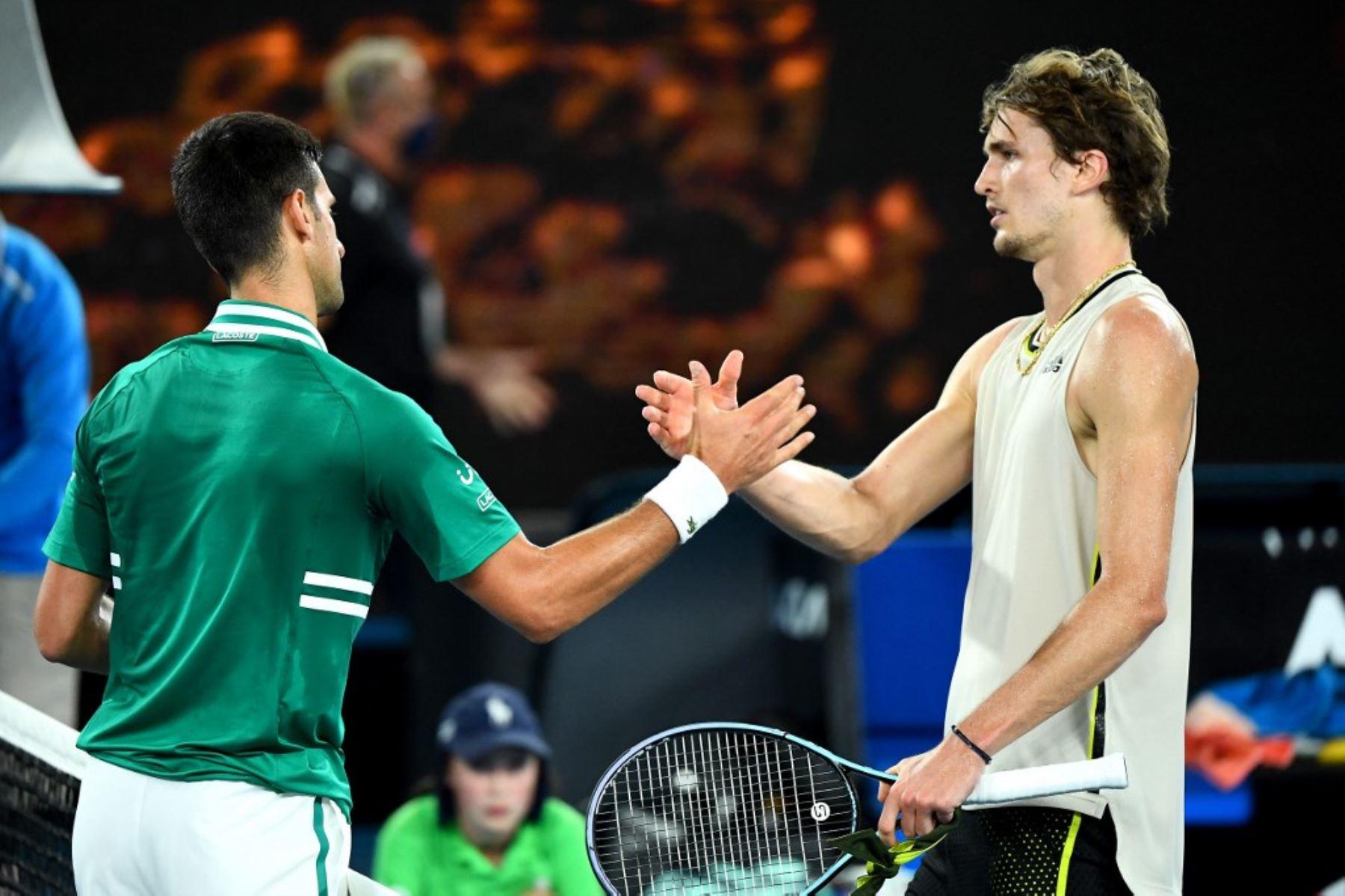 Djokovic tendrá a un oponente complicado como Zverev en los cuartos de final