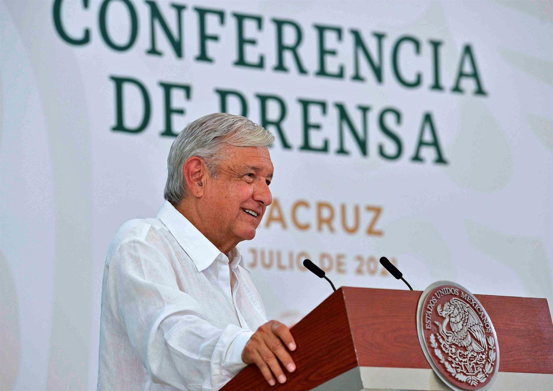López Obrador, presidente de México.