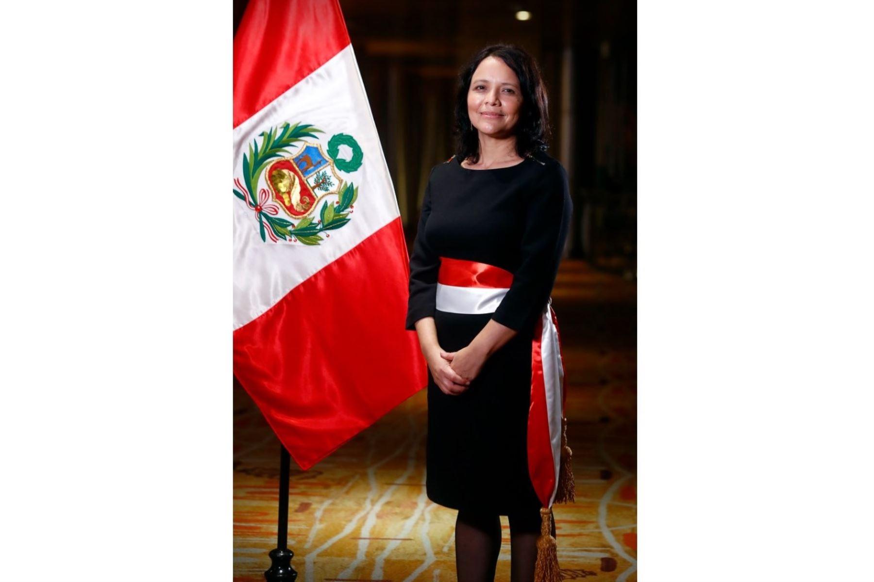 La socióloga Anahí Durand es la nueva ministra de la Mujer y Poblaciones Vulnerables. ANDINA/Difusión