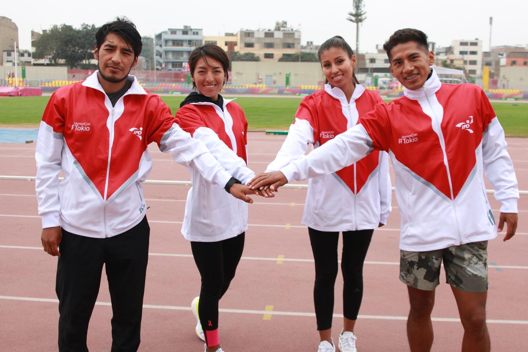 Atletas peruanos ya se encuentran en Tokio 2020 listos para triunfar