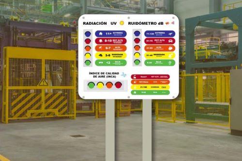 """La tecnología peruana """"KON"""" aporta una solución innovadora para que las empresas puedan cumplir con la normativa nacional en cuanto a calidad de aire y de ruido."""