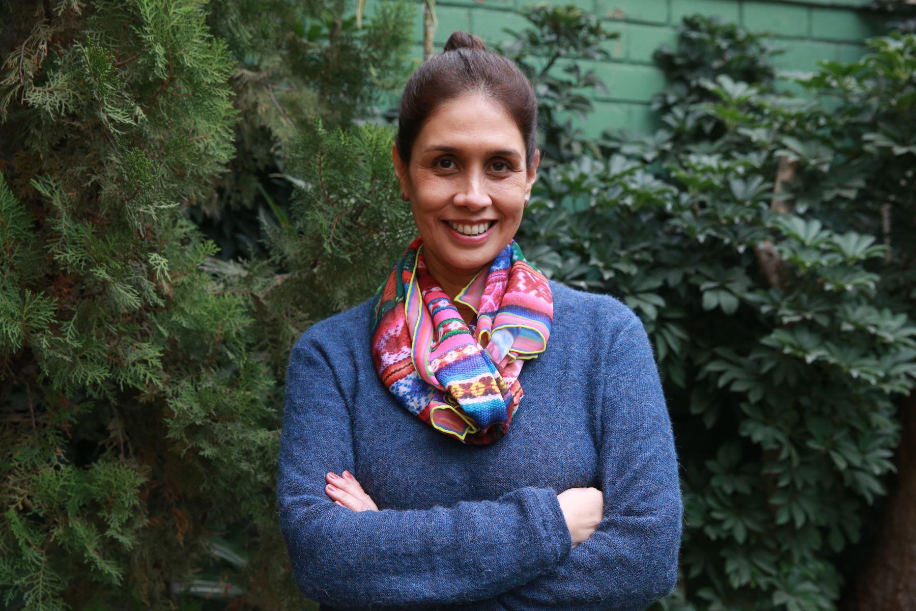 Ana Caridad Sánchez y su mirada al cine hecho por mujeres. ANDINA/archivo
