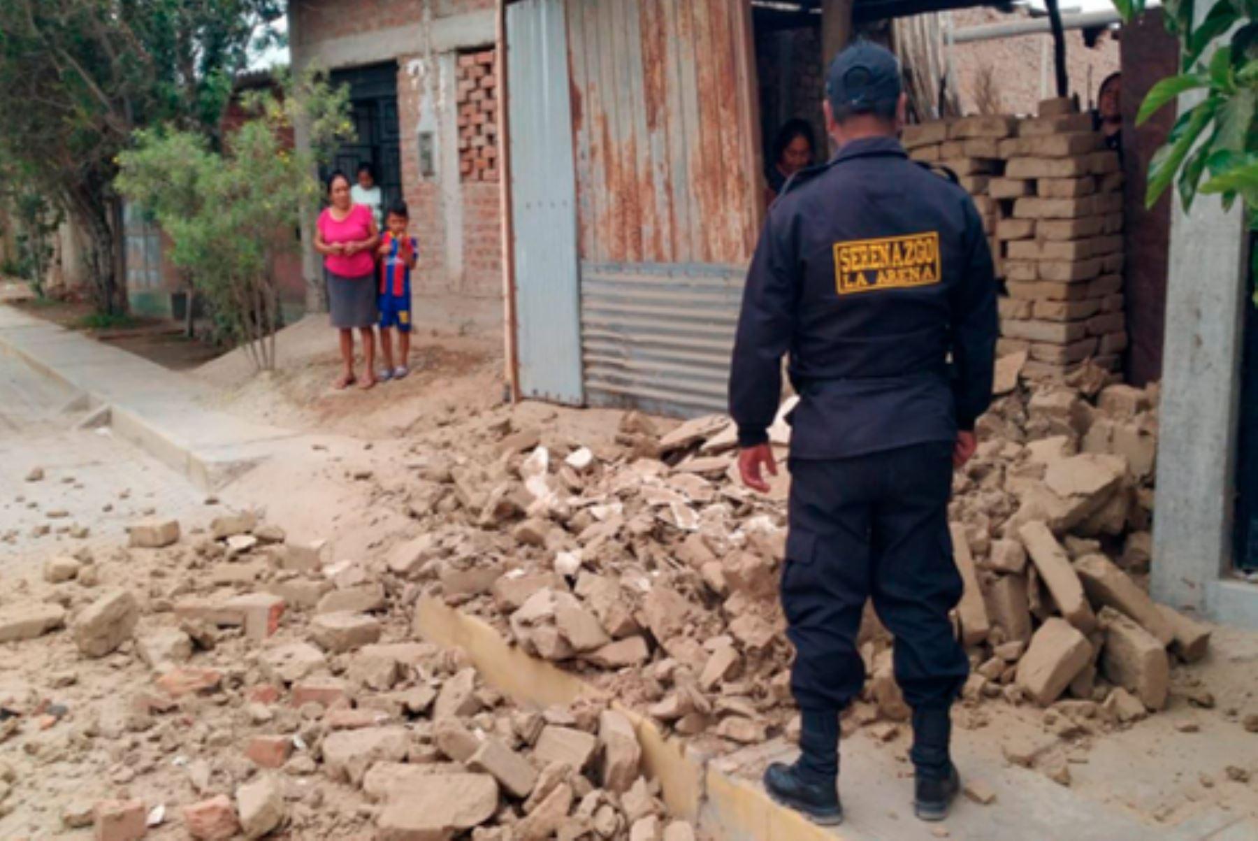 El epicentro del sismo de magnitud 6.1 se situó a 12 kilómetros de la ciudad de Sullana, región Piura. Foto: ANDINA/Cenepred
