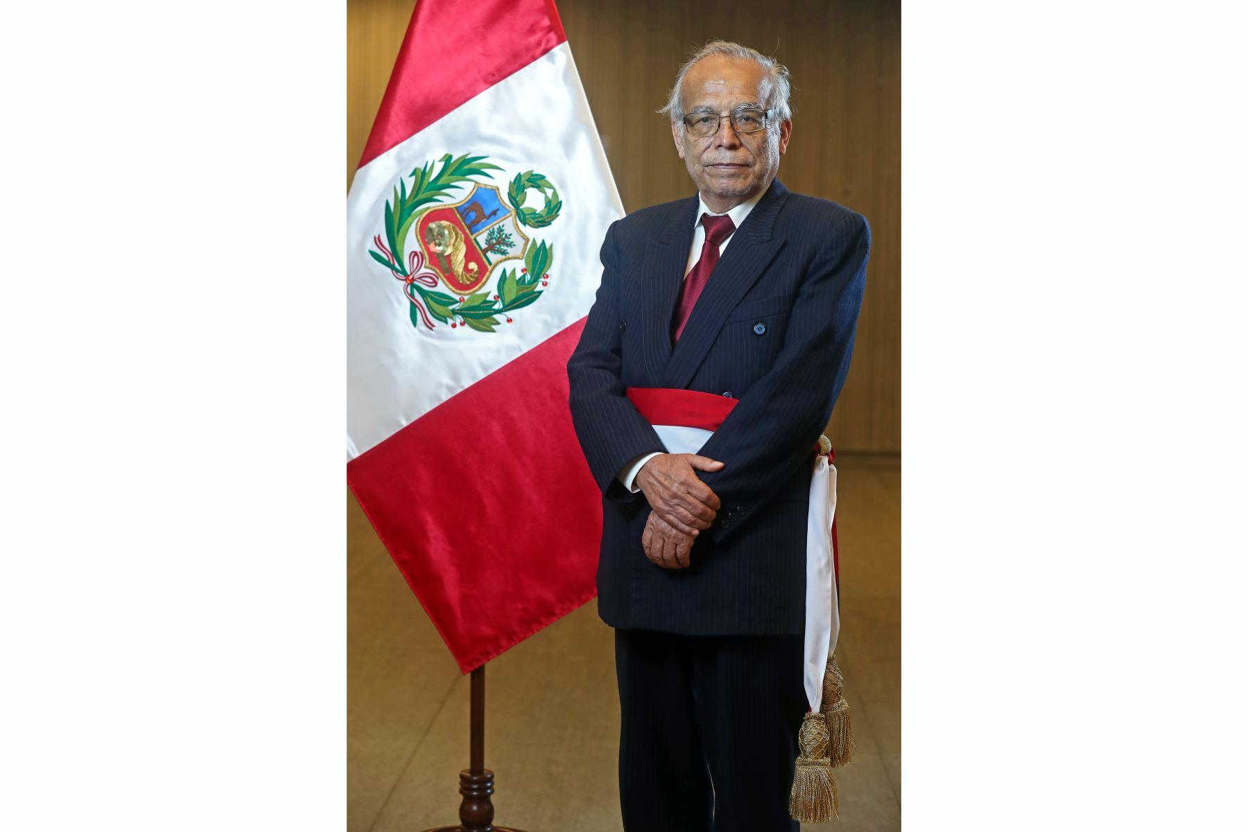 Aníbal Torres jura como ministro de Justicia y Derechos Humanos. Foto: ANDINA/Prensa Presidencia
